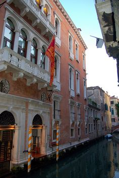 Venice - A Venetian Hotel along the canal by mbell1975, via Flickr