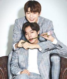 Daniel and Jihoon ❤️