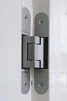 Concealed Hinge Example Concealed Door Hinges, Hidden Hinges, Secret Compartment Furniture, Hatch Door, Iron Front Door, Secret Storage, Hidden Rooms, Home Tech, Dream House Interior