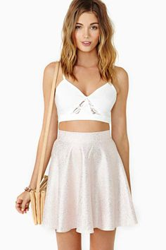 Disco Dream Skater Skirt
