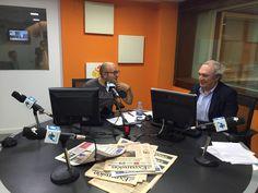 """Antonio Banda, CEO de Feelcapital, con el periodista económico Manuel Tortajada en el programa Visión Global de Radio Intereconomía. """"Las entidades financieras van a empezar a cobrar por los #depósitos antes de que acabe este año"""", aseguró Banda. #FondosDeInversión (31 de agosto de 2016)."""