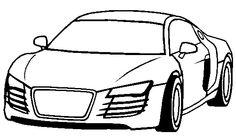 Honda Acura Coloring Page - Honda car coloring pages