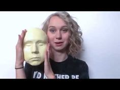 How to make a face cast on yourself - YouTube