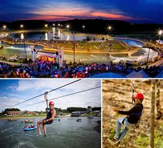US National Whitewater Center.  Something for everyone!