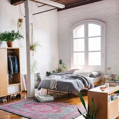 Loft bedroom by @urbanoutfitters