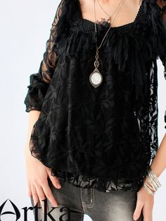 #asianicandy lace top