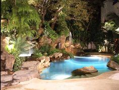 17 Best Romantic Grottos Or Man Caves You Decide Images Swimming Pool Designs Dream Pools