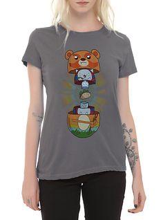 Cartoon Hangover Bravest Warriors Soft Tacos Inside Girls T-Shirt | Hot Topic