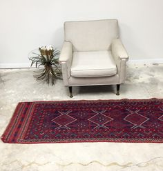 A personal favorite from my Etsy shop https://www.etsy.com/listing/450521270/vintage-persian-runner-red-and-blue-with
