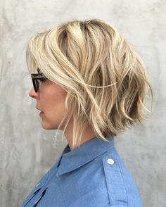 Color by Justin Anderson with Olaplex on Jenna Elfman