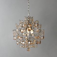Baroque crystal chandelier chandeliers online john lewis and buy john lewis evelyn chandelier online at johnlewis mozeypictures Gallery