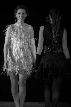 e201546a3ce La Petite Robe Noire et Blanche - Défilé Art smod 2016 - Fabienne Dimanov  Paris