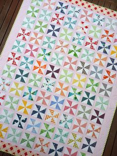 Another beautiful quilt from Rita