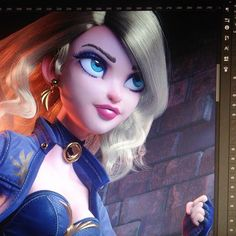 posted by carlosortega3d via instagram :   Another HiRes render I've had stored for almost 2 months now .. . among other renders almost a year - or more- old, I need some free time to update my portfolio 😥 #girl #zbrush #blackcanary #maya  maya,girl,zbrush,blackcanary