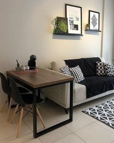 Home Living Room, Interior Design Living Room, Living Room Designs, Small Space Interior Design, Home Room Design, Apartment Decoration, Simple Living Room Decor, Cool Apartments, Dyi