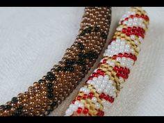 Мозаичное плетение. Жгуты по схемам - YouTube