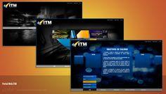 ITM de Colombia, diseño y desarrollo de portal web. http://www.itm.com.co/