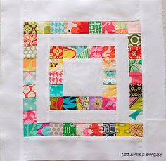 Little Miss Shabby: Scrapbuster Block Tutorial