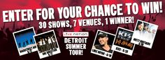 Live Nation Detroit Summer Tour Ticket Giveaway