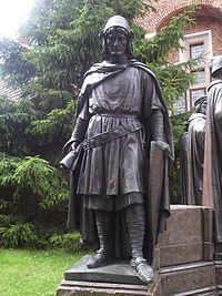 Hermann von Salza, Grand maître de l'ordre Teutonique (Malbork)
