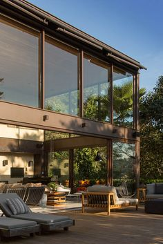 Glass and steel, home