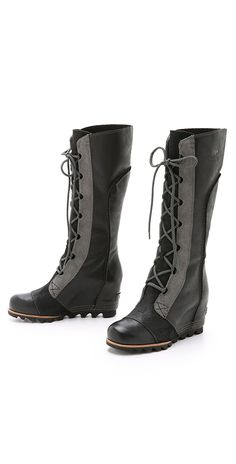 Sorel Cate the Great Wedge Boots | SHOPBOP
