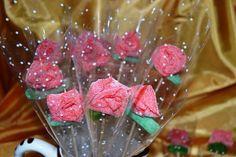 Rosas de gominolas