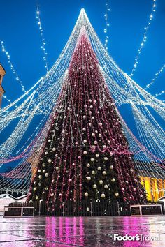 Europe is home to some of the greatest seasonal light shows in the world. Prague Christmas Market, Christmas In Europe, Christmas Travel, Christmas Christmas, Jamberry Christmas, Christmas Ideas, Holiday Lights, Christmas Lights, Copenhagen Zoo