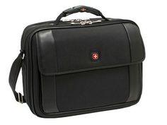 New Swiss Gear By Wenger Comet Computer Bag expanding files business organizer ergonomic handle