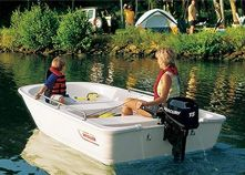 The Boston Whaler 110 Tender's light weight and shallow draft allow you to explore remote locations. Bayliner Boats, Used Boats, Small Boats For Sale, Boston Whaler Boats, Utility Boat, Diy Water Fountain, Small Yachts, Sport Fishing Boats, Boat Covers