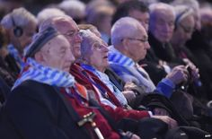 Auschwitz survivors at the 70th anniversary ceremony, 27 January  Auschwitz survivors have urged the world not to allow a repeat of the crimes of the Holocaust as they mark 70 years since the camp's liberation.