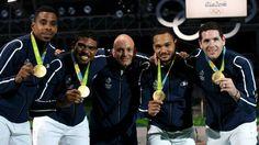 JO-2016 : les épéistes français enfin de retour au sommet de l'Olympe - France 24