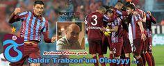 Trabzonspor Gençlerbirliği maçının ilk yarısında peşi sıra gelen gollerden sonra bütün stat bu sözlerle inliyordu. Saldır Trabzon'um Oleeyyy ...