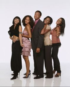 Still of Golden Brooks, Tracy Ellis, Reginald C. Hayes, Jill Marie Jones and Persia White in Girlfriends (2000)