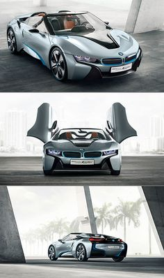 BMW i8 Spyder...love to get behind this beauty <3