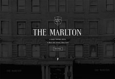 the marlton hotel logo - Google Search
