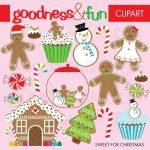 Sweet for Christmas Clipart