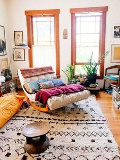 24 best desain ruang keluarga tanpa sofa images rh pinterest com