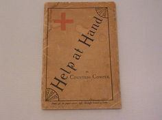 FREE SHIPPING to UK Victorian First Aid Book 'Help at