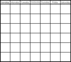 Catch 6 Week Blank Calendar Printable ⋆ The Best Printable Calendar Collection Weekly Calendar Template, Schedule Printable, Printable Calendar Template, Printables, Print Calendar, Calendar Ideas, 2019 Calendar, January Calendar, Excel Calendar