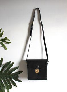 Equestrian Hardbody Leather Bag