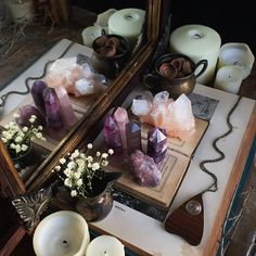 #altar #pagan #witch #witchcraft #magic #god #goddess #offer