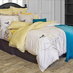 Escale by Alamode Home Fashion Bedding King Bedding Sets, King Comforter Sets, Duvet Bedding, Duvet Sets, Super King Duvet Covers, King Size Duvet Covers, Target Bedding, Master Bedroom Design, Bouldering