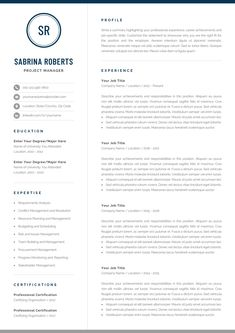 Professional One-Page Resume Template Sabrina ---CLICK IMAGE FOR MORE--- resume how to write a resume resume tips resume examples for student One Page Resume Template, Modern Resume Template, Creative Resume Templates, Creative Cv, Cover Letter For Resume, Cover Letter Template, Cover Letters, Google Docs, Resume Cv