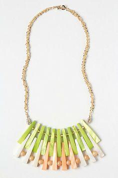 Anthro Sea Splinters Necklace