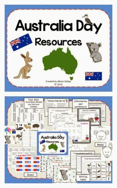 Teaching Maths with Meaning Australia Day is Coming Up... Resources 50% off!