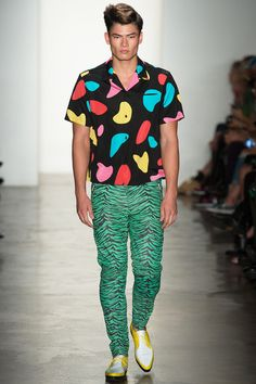 Jeremy Scott | Spring 2014 Ready-to-Wear Collection | Style.com Reminds me of 80s Ken