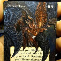 Demonic Tutor as Diablo Magic, Events, Drawings, Cards, Devil, Happenings, Sketches, Sketch, Drawing