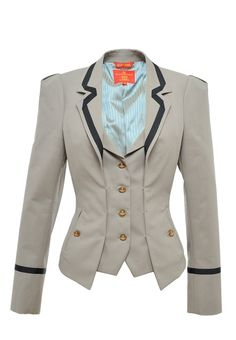 Vivienne+Westwood+Four+Button+Single+Breasted+Jacket