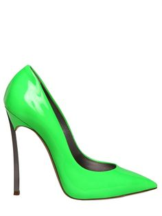 CASADEI  120MM PATENT POINTY PUMPS